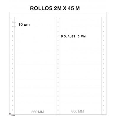 LONA POLIETILENO REFORZADA ANDAMIOS 3,20x20 M