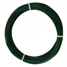 ALAMBRE PLASTIFICADO VERDE 1,6 MM. ROLLO DE 50 M LINEALES