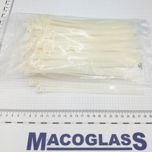 BRIDAS BLANCAS NYLON 200X7.6 MM