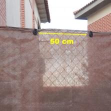 GRAPA SUJECCION MALLA REDONDA C/PUENTE