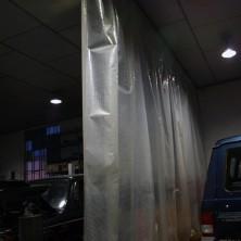 LAMINA REFORZADA DE PVC IGNIFUGA. 280GR m2 AL CORTE