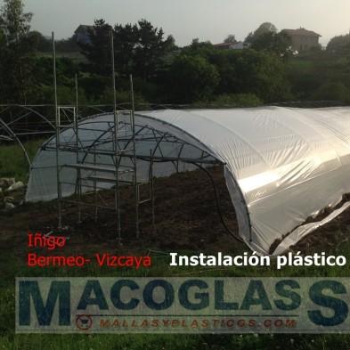 PLASTICO INVERNADERO G-800 3AOS , AL CORTE