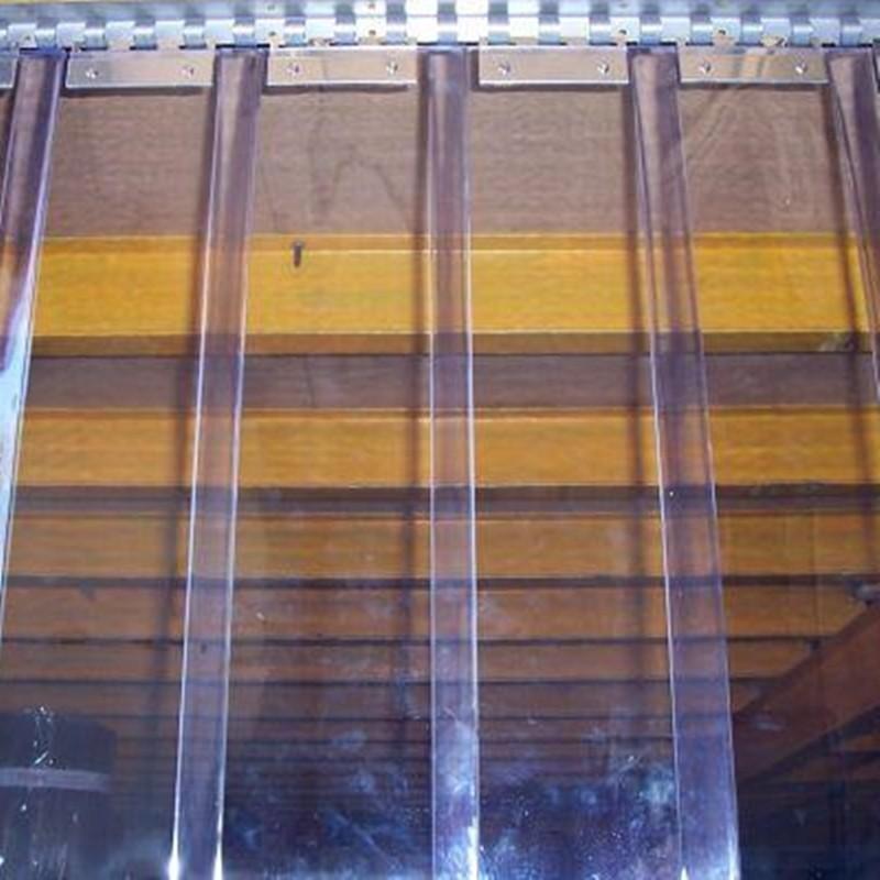 Lama de 3 mm de espesor para cortinas de pvc Cortinas plegables de pvc