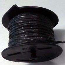 ROLLERHOOK  CARRETE NEGRO 25 MTS(50 UDS)