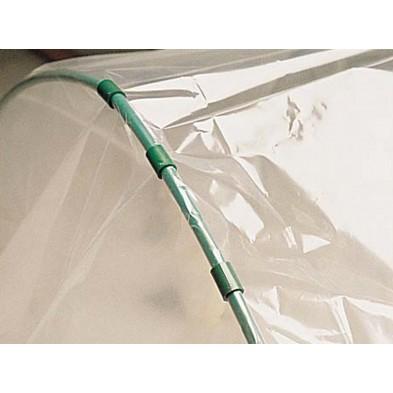 Tubo de PVC en arco para túneles de cultivo o de soporte para mallas y plásticos