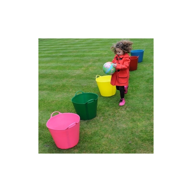 CUBO FLEXIBLE MULTIUSOS 38 LITROS