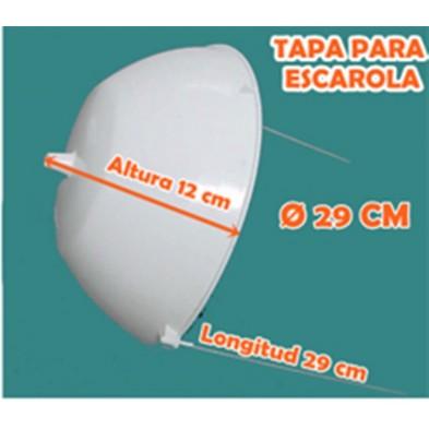 TAPA ESCAROLA 29,5 CMS 